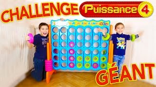 Video CHALLENGE PUISSANCE 4 GÉANT - Swan VS Néo - Giant Connect 4 - Mega 4 in line MP3, 3GP, MP4, WEBM, AVI, FLV Mei 2017