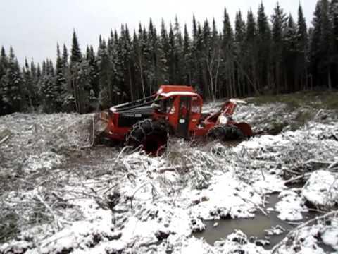 timberjack 240 get stuck