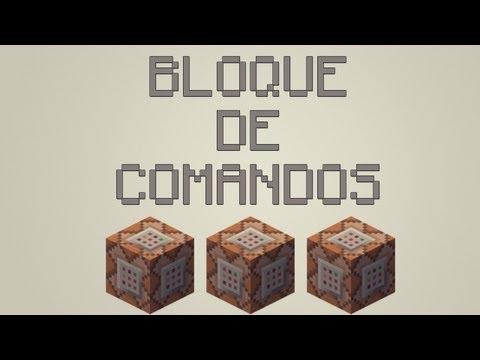 Tutorial Basico Bloque de Comandos Minecraft 1.6.1