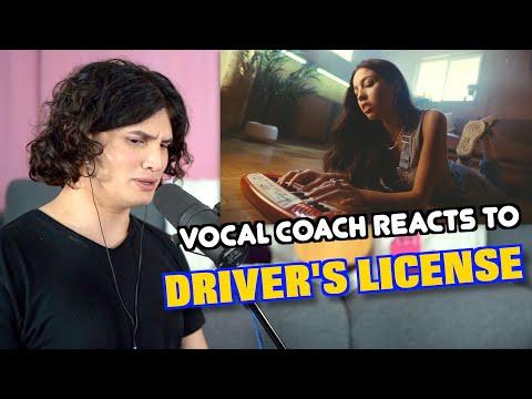 Vocal Coach Reacts to Driver's License - Olivia Rodrigo