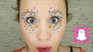 💕 Festivals Snapchat Make Up Facile DIY-Halloween/Concerts - YouTube