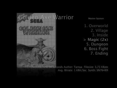 golden axe warrior sega master system cheats