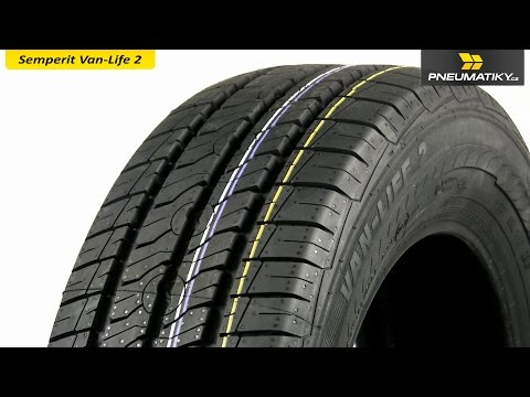 Youtube Semperit Van-Life 2 225/75 R16 C 121/120 R 10pr Letní