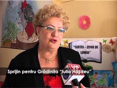"""Sprijin pentru Grădinița """"Iulia Hașdeu"""""""