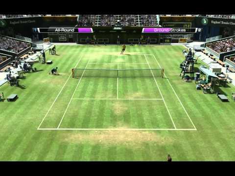 Federer – Djokovic Semifinal Wimbledon 2012 Virtua Tennis 4.mp4