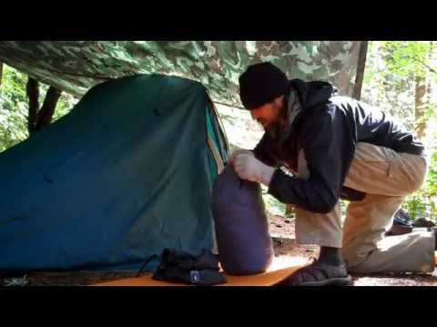 CAMPING TIPS ~ HOW TO SET UP A RAW FOOD CAMPSITE