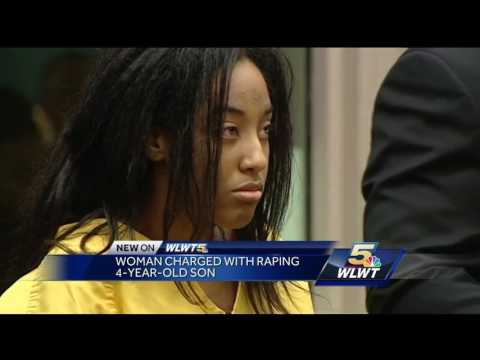 Woman accused of raping 4-year-old