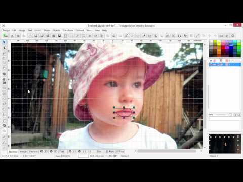 How to Create Portrait with Sfumato Stitch 2013