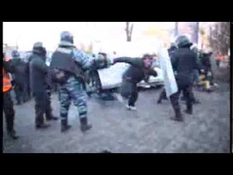 Бои в Киеве 18.02.2014 (видео)