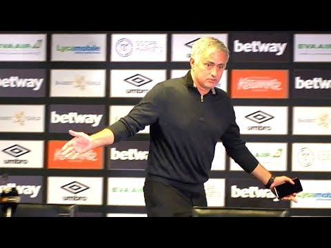 West Ham 3-1 Manchester United - Jose Mourinho Full Post Match Press Conference - Premier League