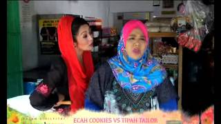 Video [Promo Raya 2014] Ecah Cookies Vs Tipah Tailor (3 Syawal) MP3, 3GP, MP4, WEBM, AVI, FLV Juni 2018