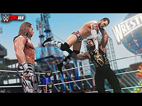 WWE 2K18 Top 10 Stolen Finisher Beatdowns! Part 4