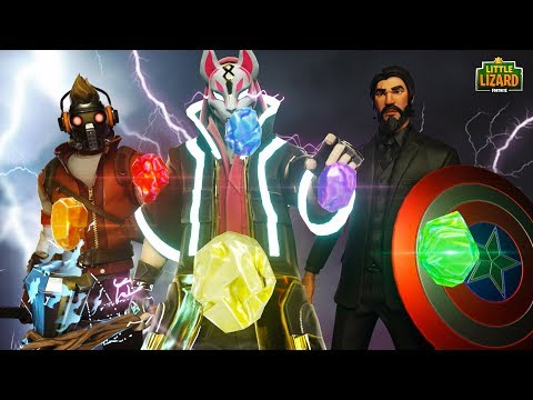 DEFENDERS OF THE INFINITY STONES!!! - Fortnite Avengers Short Film