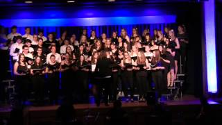 Chor Rumantsch & Chor der BZS Ilanz an einem gemeinsamen Konzert in Chur am 9.5.2014.