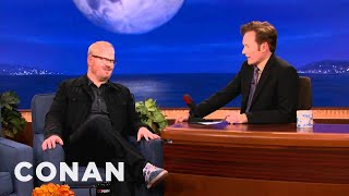 Jim Gaffigan Is Extremely Pale - CONAN on TBS