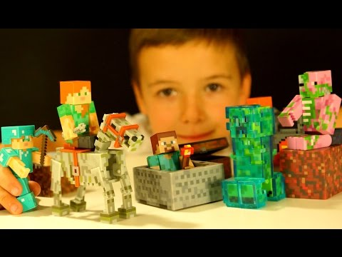 МАНКРАФТ Игрушки - Распаковка Посылки из Америки - Кока Туб - Minecraft Toys Unboxing