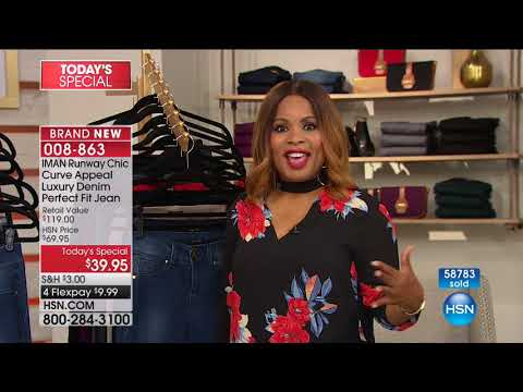 HSN | IMAN Global Chic Fashions 08.26.2017 - 04 PM