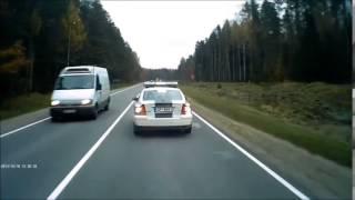 Полиция остановила водителя автобуса