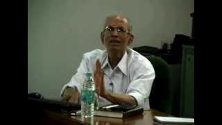 Prof Madhav Gadgil, Chairman of the Western Ghats Ecology Expert Panel, delivered a talk on 'What ails environmental governance in India' on 22 May 2012, Int...