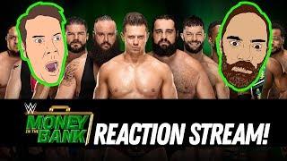 Video WWE MONEY IN THE BANK 2018 REACTION STREAM! MP3, 3GP, MP4, WEBM, AVI, FLV Juni 2018