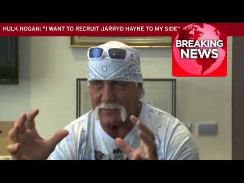 Hulk Hogan on recruiting Jarryd Hayne to the NFL and getting him into wrestling
