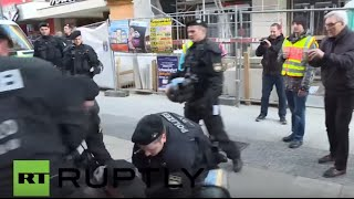 Schweinfurt Germany  city photo : Germany: Protesters disrupt AfD rally in Schweinfurt