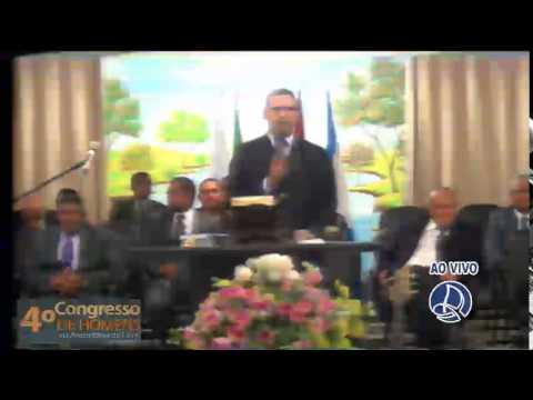3º Dia de Culto - 4ª congresso de Homens na AD em Alhandra 13/12/2015