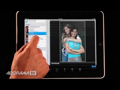 iPad Photography App: Rick Sammon's 24/7 Photo Buffet: Adorama Photography TV