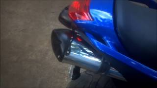 9. 2007 Yamaha FZ6 stock to Two Brothers exhaust comparison