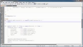 PHP Tutorials: Register&Login (Part 11): Register Users (Part 2)