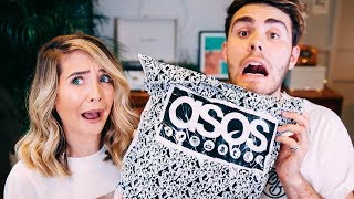 Boyfriend Does My ASOS Shop - Previous Video: http://bit.ly/2hdqIaf - Vlogs: http://bit.ly/1GSVdre - Alfie: http://bit.ly/2uKk2oN Items ...