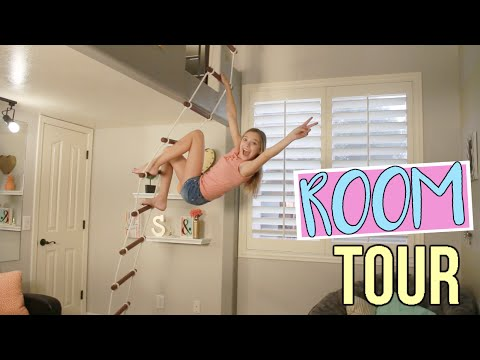 Awesome Room Tour with Loft! 2016! (видео)