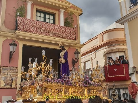 "Salida Procesional ""Hermandad del Cautivo"" Semana Santa Isla Cristina 2019"