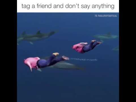 看完以後,標記您的朋友,不要說任何話