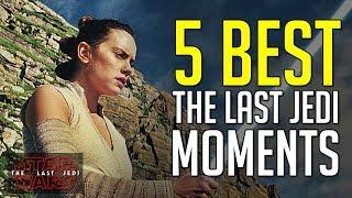 Video 5 Best Moments in Star Wars: The Last Jedi MP3, 3GP, MP4, WEBM, AVI, FLV Maret 2018