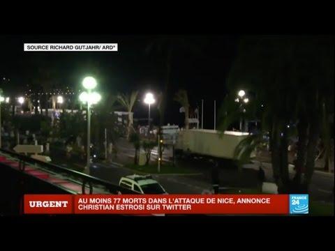 Attentat à Nice : Images amateur