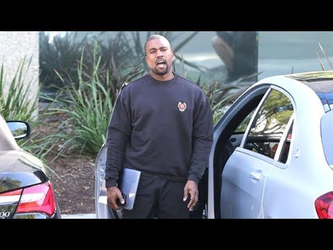 Kanye Gets Saucy With The Paps