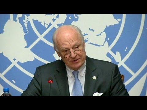 Έκκληση του ΟΗΕ να σωθεί η διαπραγμάτευση στη Συρία
