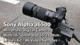 Here are some 4K video examples using a Sony Alpha a6500 Mirrorless Digital Camera with 16-50mm and 55-210mm Lens Kit. I shot in 4K at 100 megs per second in downtown Morganton on July 3, 2017. I was testing the zoom functions on the camera and seeing how well the image quality held up. I shot in full auto for the entire shoot and I only color corrected one clip. You can get this combo (camera and lenses) at this link at B&H Photo: https://goo.gl/8jDC3a