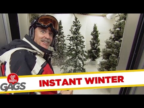 Instant Winter Prank
