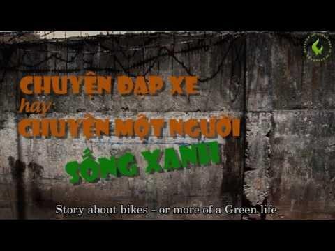 Sống xanh chuyện đạp xe của Mr Nhã