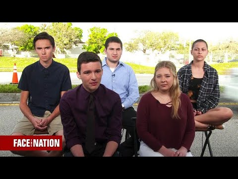 Students call on Congress to act on gun control (видео)