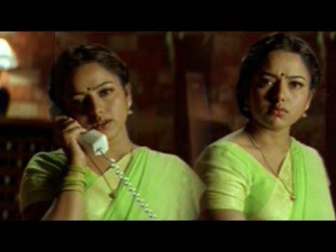 Raja Telugu Movie || Soundarya Cheats Venkatesh Funny Scene