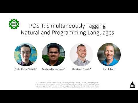 POSIT ICSE2020 Talk