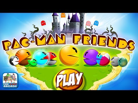 PAC-MAN Friends - Storm the Ghosts' Castle and Save Your Friends (iOS/iPad Gameplay)