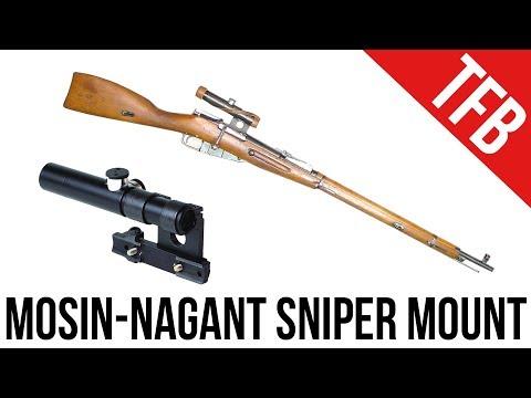 How a Mosin-Nagant PU Sniper Mount Works (видео)