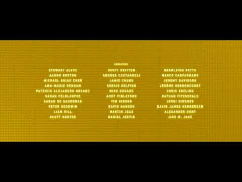 The Lego Batman Movie (2017) End Credits Edited