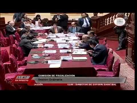 Presentación del ex premier René Cornejo  ante Comisión de Fiscalización [Parte 1]