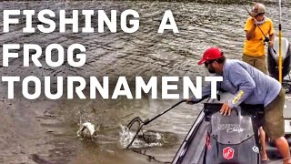 Video Topwater Bass Fishing - The Spro Frog Only Tournament MP3, 3GP, MP4, WEBM, AVI, FLV Agustus 2018