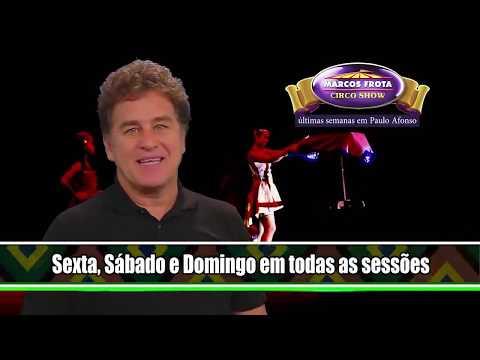 Fasete   Marcos Frota em Paulo Afonso/BA com o Marcos Frota Circo Show